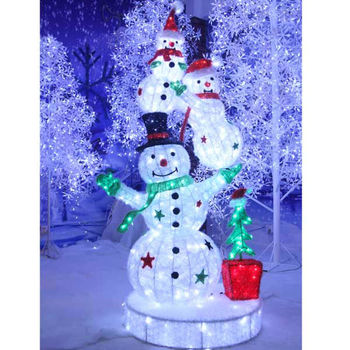 Outdoor lighted snowman for christmas decoration buy outdoor outdoor lighted snowman for christmas decoration mozeypictures Choice Image