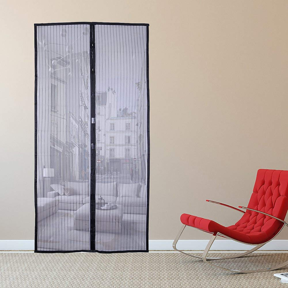 Get Quotations Gemyon Magnetic Screen Door 36 X 80 Mesh Fly Mosquito Curtain With