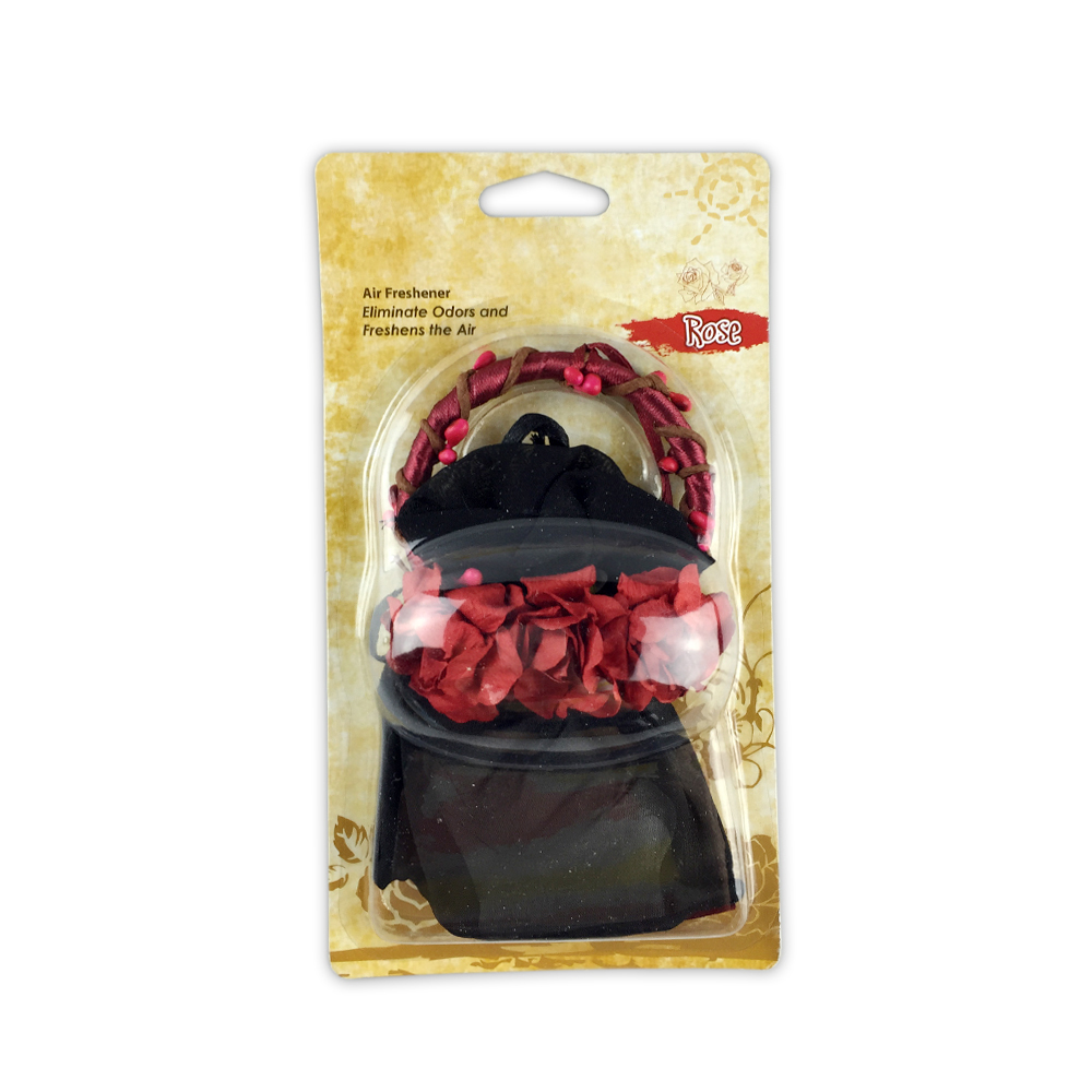 Satchel Car Air Freshener With Long Lasting Fragance