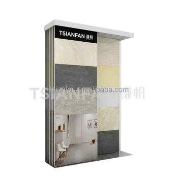 CT2113--Ceramic tile display shelves