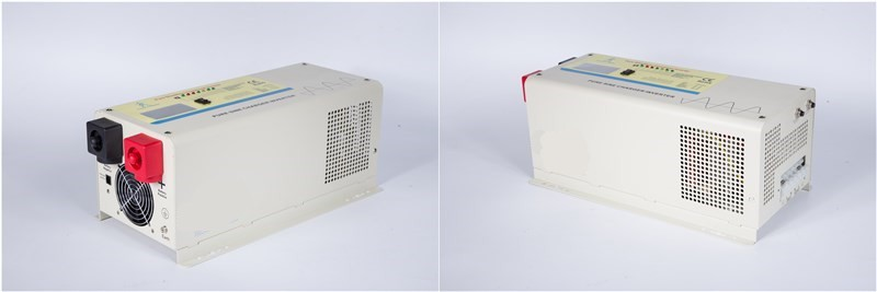 Low Frequency DC/AC Inverters Type and Single Output Type Pure Sine Wave Off Grid Power Inverter & charger 1000W