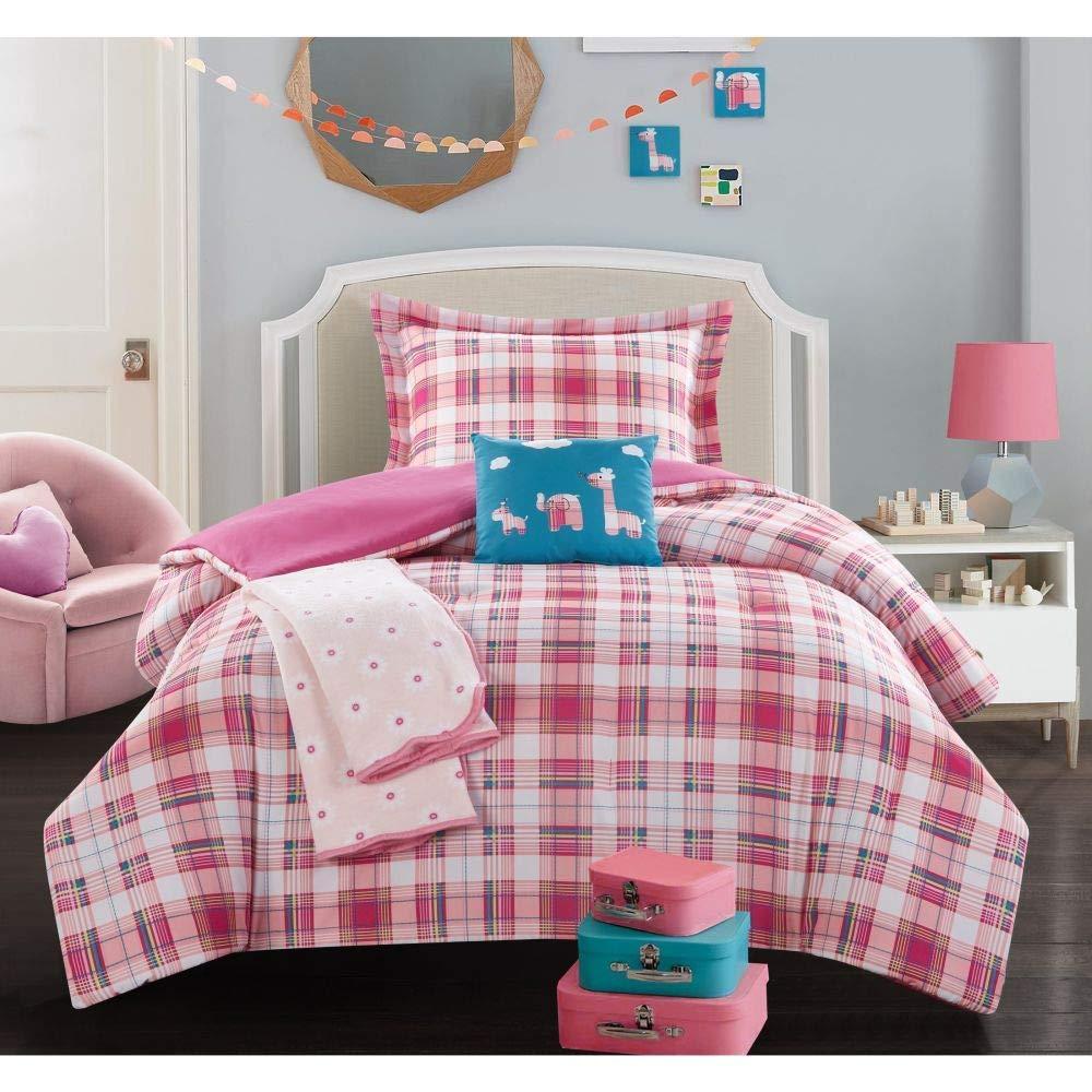 Disney Minnie Mouse Stripes Fleece Blanket Bed Throw