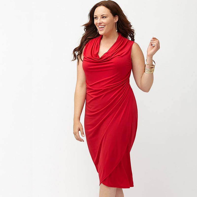 Buy Red Dress Women39s Plus Size Us Xxxl 6xl Vintage Styled