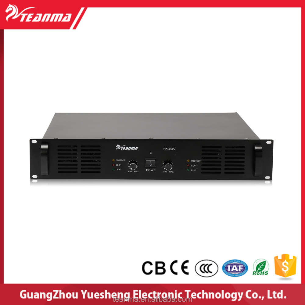 China Amplifier Manufacturer pa system hifi amplifier