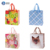 promotional reusable supermarket grocery foldable Non-woven shopping bag with Laminated