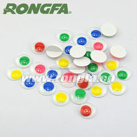 cheap DIY accessories safety plastic moving fish eyes