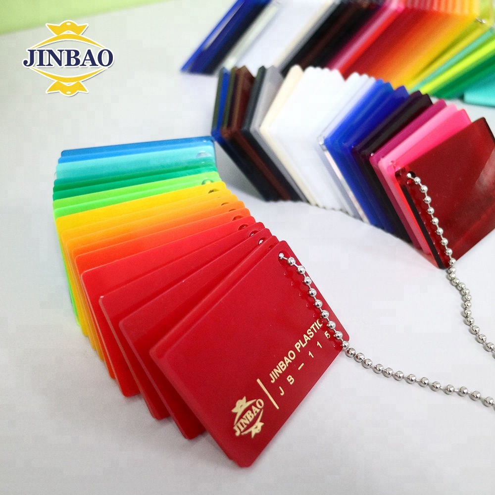 JINBAO 4mm color customize <strong>plastic</strong> 4x8 ft Acrylic pmma sheet