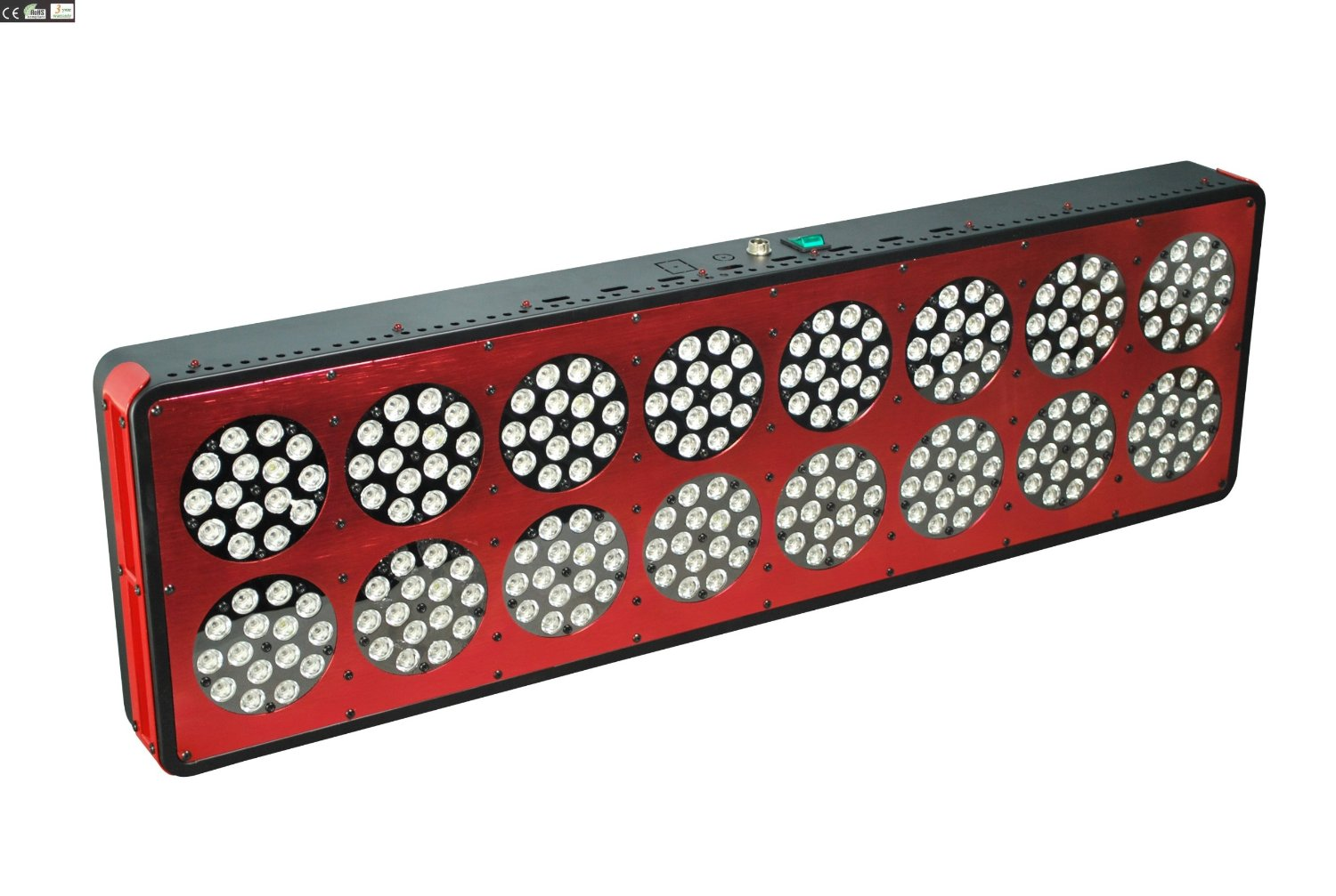 Ditforu new Upgraded Apollo Led Grow Light 720W (240*3W) new genneration non-stop working high quality Hydroponics Plant Light