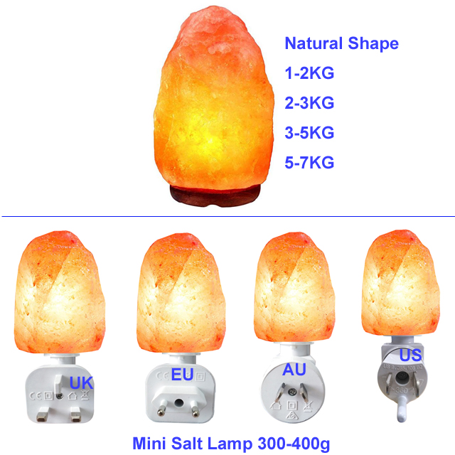 Natural do Himalaia Rock Salt Lamp Pink