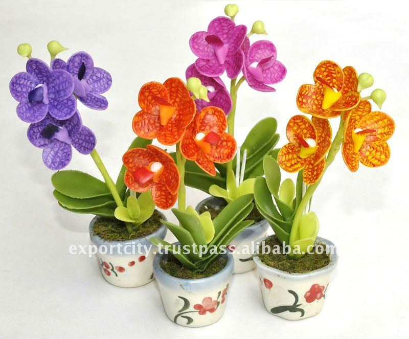 Artificial Flowers Arrangement (torch Ginger)