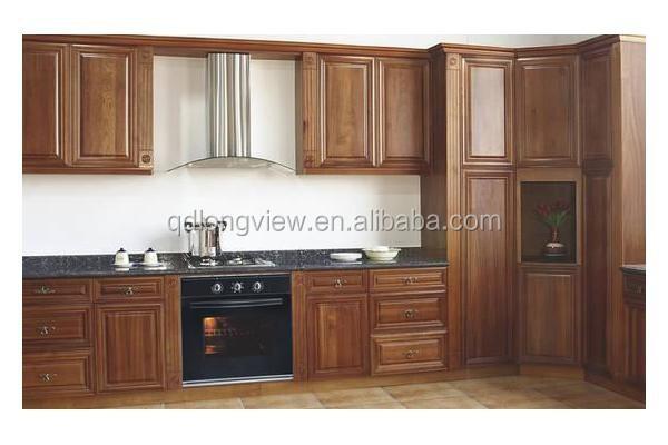 Solid Wood Walnut Kitchen Cabinets, Solid Wood Walnut Kitchen ...