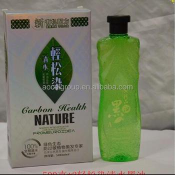 Fruit Vinegar Hair Black Hair Color Gel 500ml*2 - Buy Natural Herbal ...