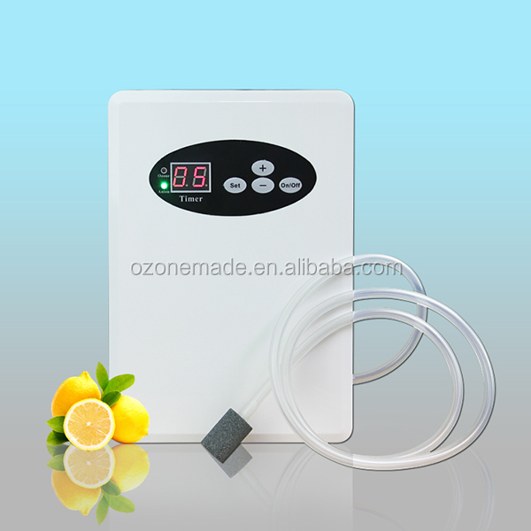 Ozone fruit and vegetable washer with auto timer