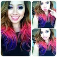 Hair Color Chalk Temporary Hair Color Tongs For Hair Dye - Buy ...