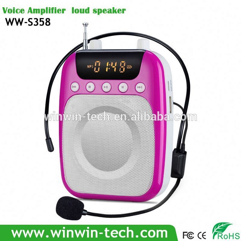 Rechargeable Mini Digital Sound Box Speaker Boombox for Sales People