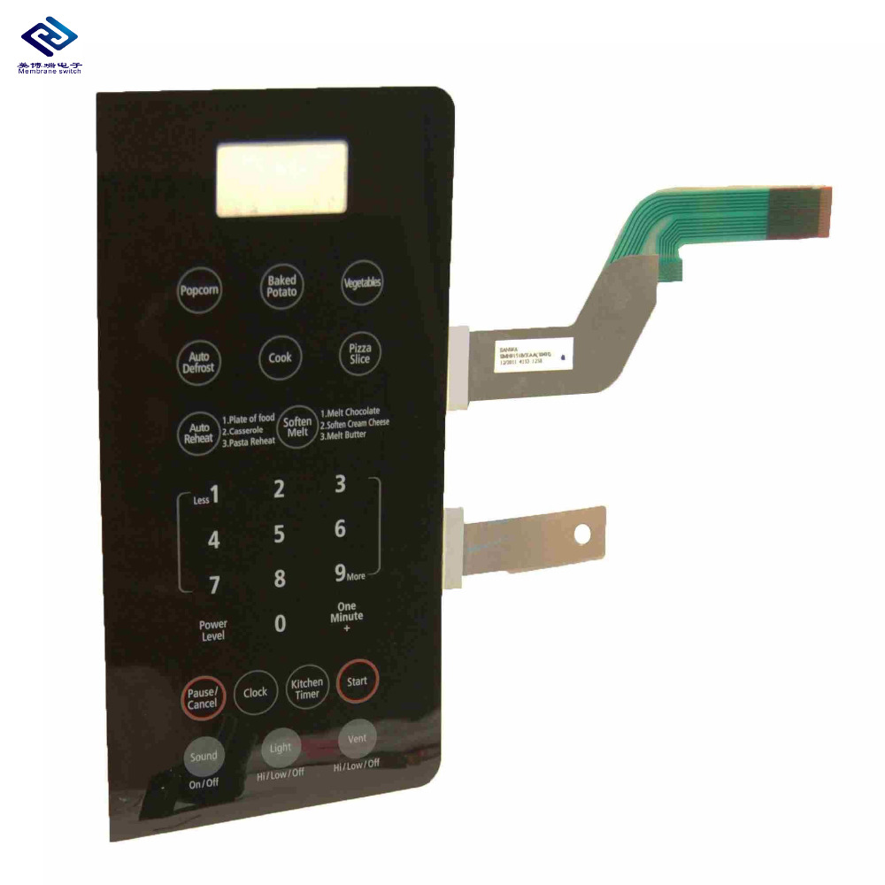 Customized High Quality FPC/PCB capacitive touch button keypad membrane switch