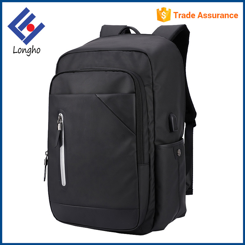 High class tablet mobile phone charger backpack multifunction wholesale power school bag with USB charging port