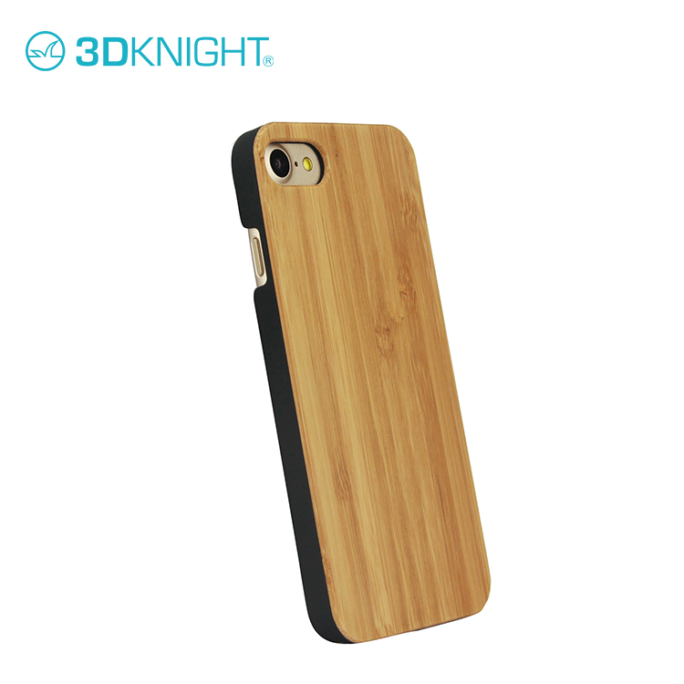 2017 Newest Design Full Wood Bamboo Phone Case for iPhone 8, Hand-made Blank Hard for iPhone6 6s Plus Bamboo Phone Case