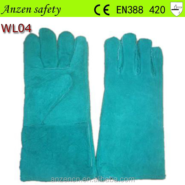 high quality cow crust leather working glove importers