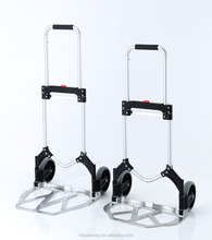 LARGE SIZE NOSE PLATE ALUMINUM FOLDING TROLLEY TRANSPORT CART