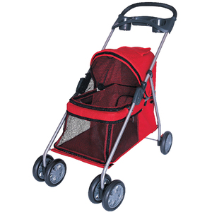 4 Wheels Pet dog cat Stroller/Trolley