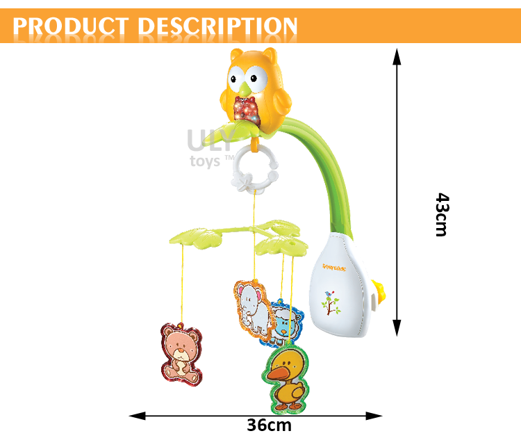 Baby Musical Mobile With Timing,Rotation,Light,Music - Buy Rotation Baby  Musical Mobile,Timing Baby Bed,Mobile For Crib Product on Alibaba com