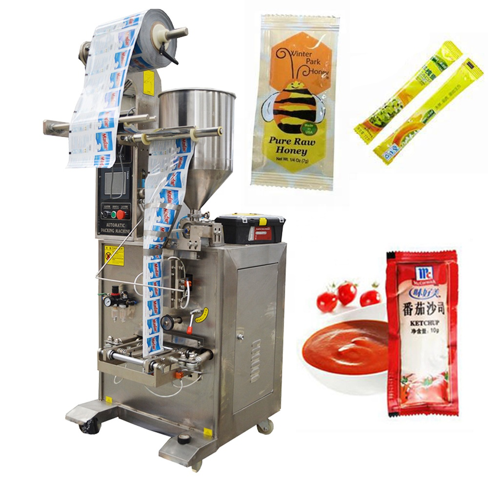 JB-150J Vertical Automatic Ketchup <strong>sachet</strong> sauce honey <strong>Packing</strong> <strong>Machine</strong>