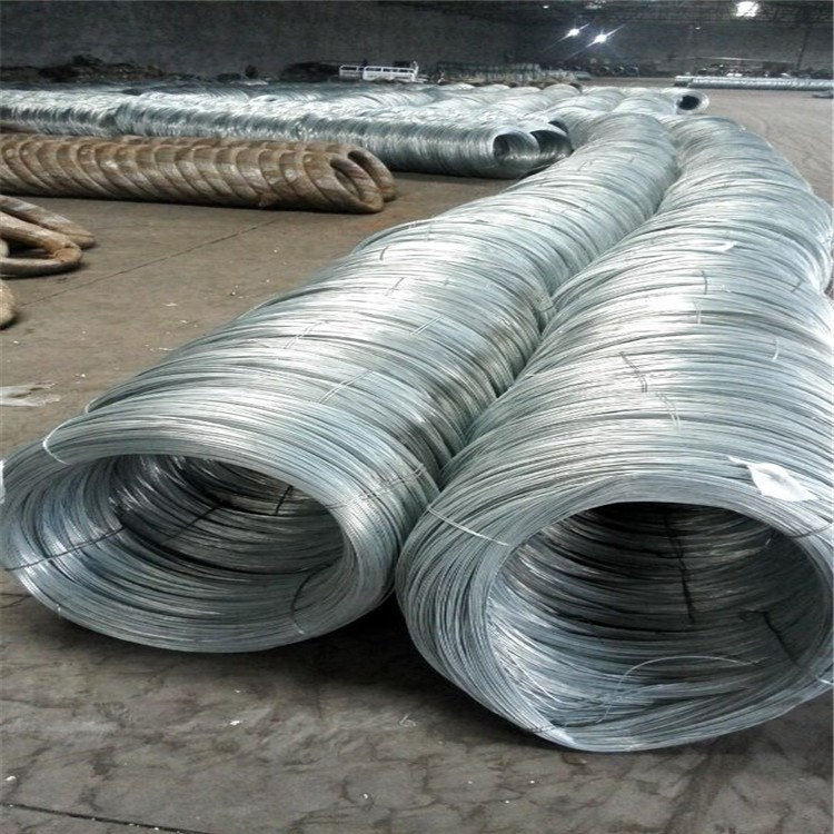 Galvanized iron binding wire iron/ zinc plated wire /3-6mm iron wire bending