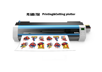 Eco-solvent Vinyl Sticker Printer And Cutter/printer Cutter Machine - Buy  Sticker Printer And Cutter,Printing Machine,Vinyl Printer Cutter Machine