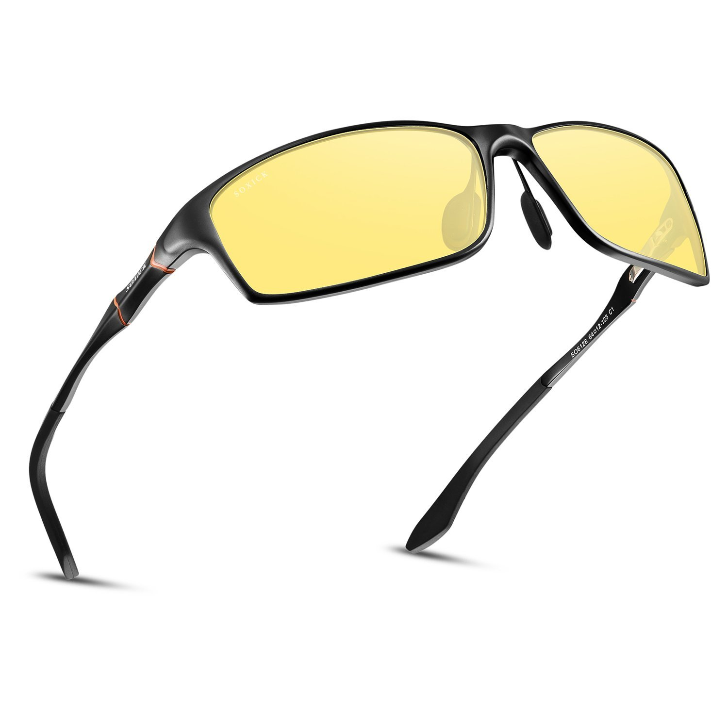 f8daaf20a5f Get Quotations · HD Men s Night Vision Glasses For Driving Polarized Anti-glare  Night Sight Driving Glasses