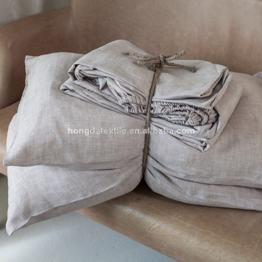 Wholesale 100% Natural Linen Bed Sheet Made In China   Buy Linen Bed Sheets, 100% Linen Sheet Set,Flax Linen Bedding Product On Alibaba.com