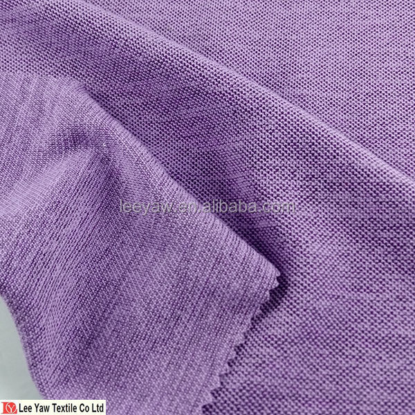 100% polyester 3 tone pique knitted for sportswear , swimwear with wicking fabric