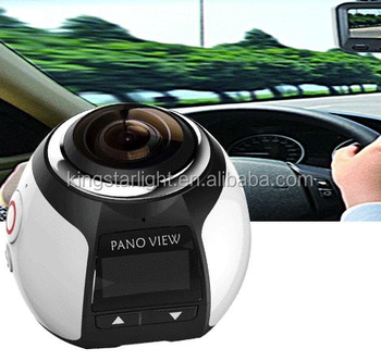 Full Hd Camera 2016 New Arrival Go Pro Style Dual Lens Panoview 360 Degree  All Viewer Sport Action Camera Pdv3600 - Buy Go Pro Camera,360 Degree