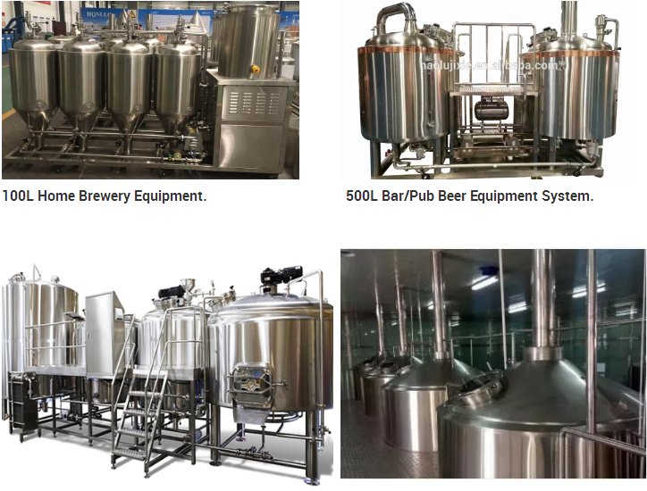 Stainless steel 10 barrel brewery for sale