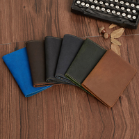 Factory Online Wholesale High End Custom Leather personalized Passport holder