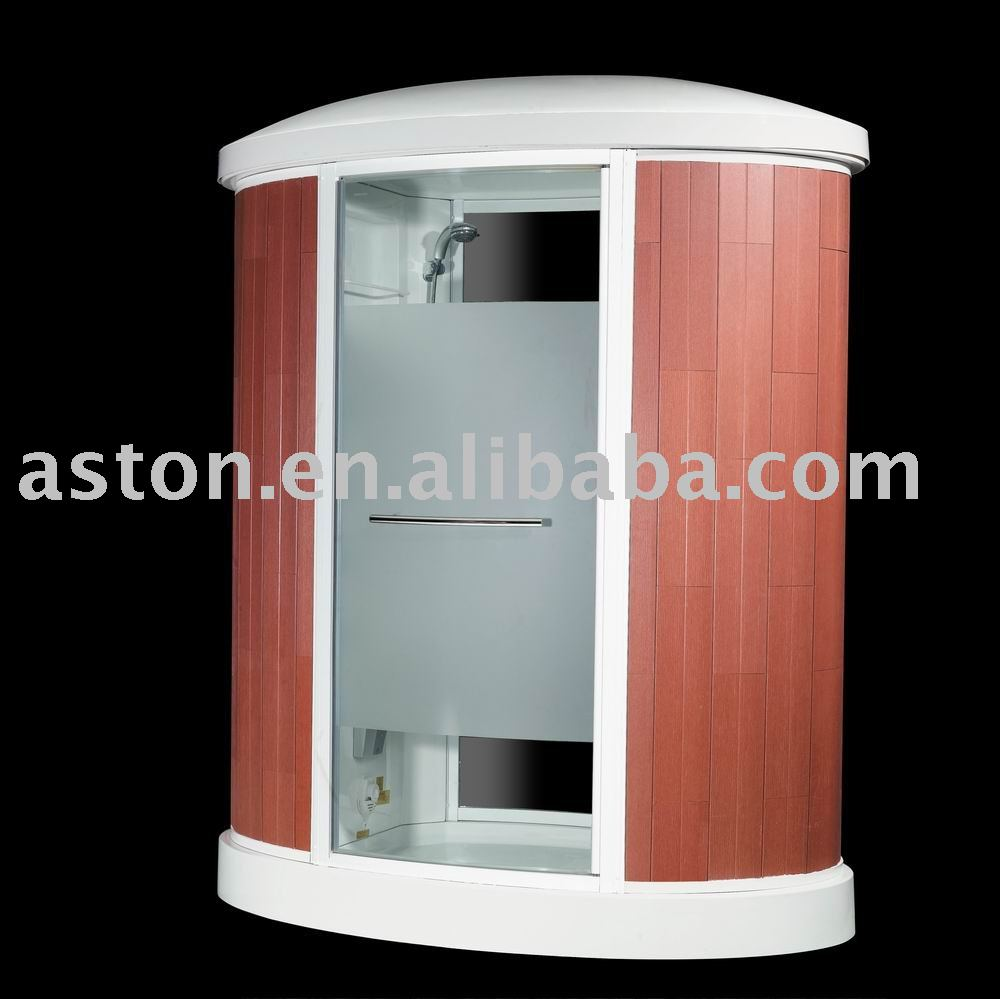 Oval new promote garden model Outdoor Wooden Steam Room