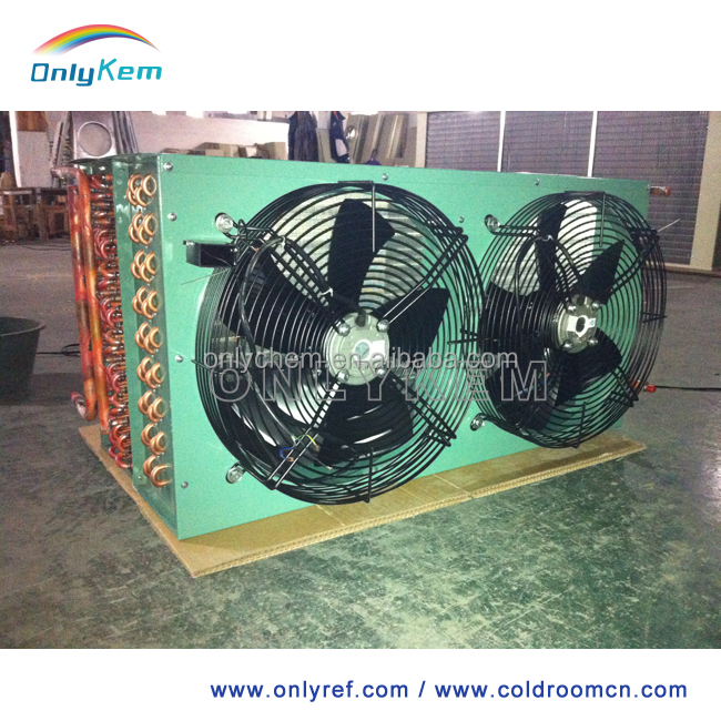 Air cooled condenser for walk in cold room, refrigeration cold room condenser