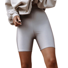 <span class=keywords><strong>Custom</strong></span> Glanzende Naadloze Hoge Waisted Spandex Vrouwen <span class=keywords><strong>Biker</strong></span> <span class=keywords><strong>Shorts</strong></span>