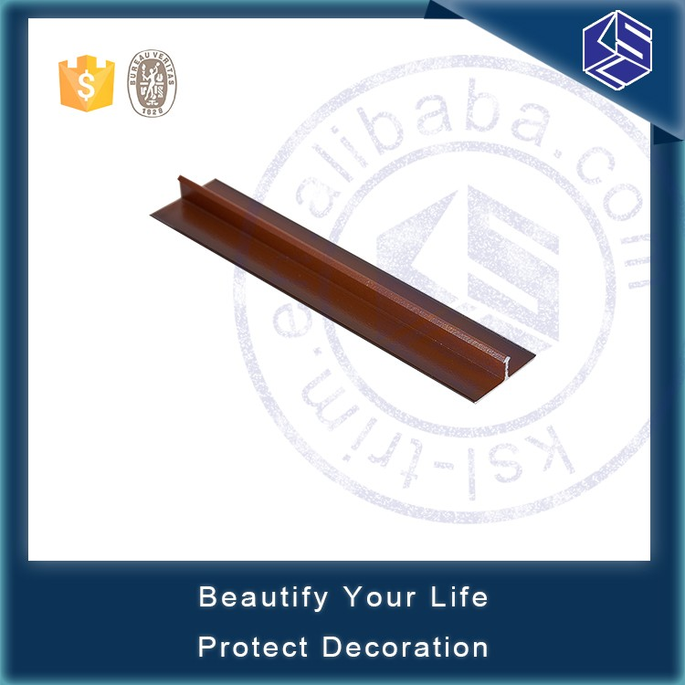 Flexible Transition Strips Aluminum T Shape Metal Wood
