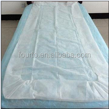 Nice Professional Factory! Disposable Bed Sheet Cover For Hospital/spa/hotel/ Hospital Rubber
