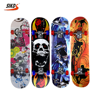 31*8.0 inch 9 ply Chinese Maple skateboard kids skateboard cheap skateboard