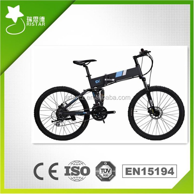 Cheap 36V 10AH 250W 26Inch Folding Electric Bike with Comfortable and Easy Riding