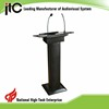 ITC T-6236B VHF Sound System Conference Classroom Digital Lectern Podium for Sale
