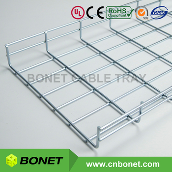 Quality Metal Wire Mesh Basket Cable Trays With Ul Ce Certified ...
