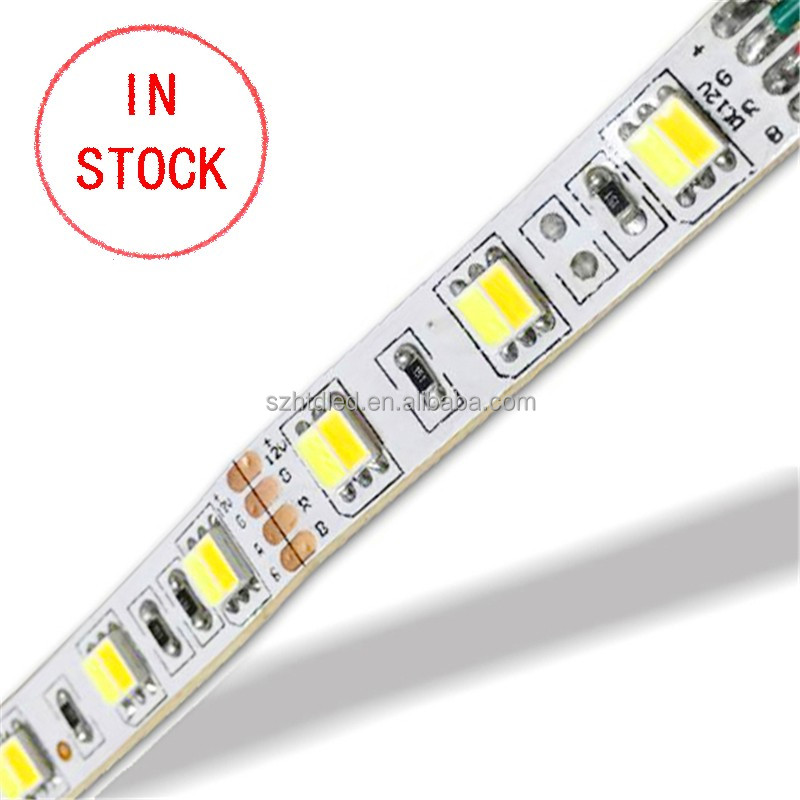 2 in 1 dual color dual white cct adjustable 5050 two color led strip