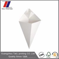 Printing disposable kraft paper cones