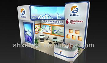 Modern Exhibition Stall Design : Modern exhibition stall design for china interantional exhibition