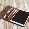 KID classic professional slim business custom universal leather cover tablet