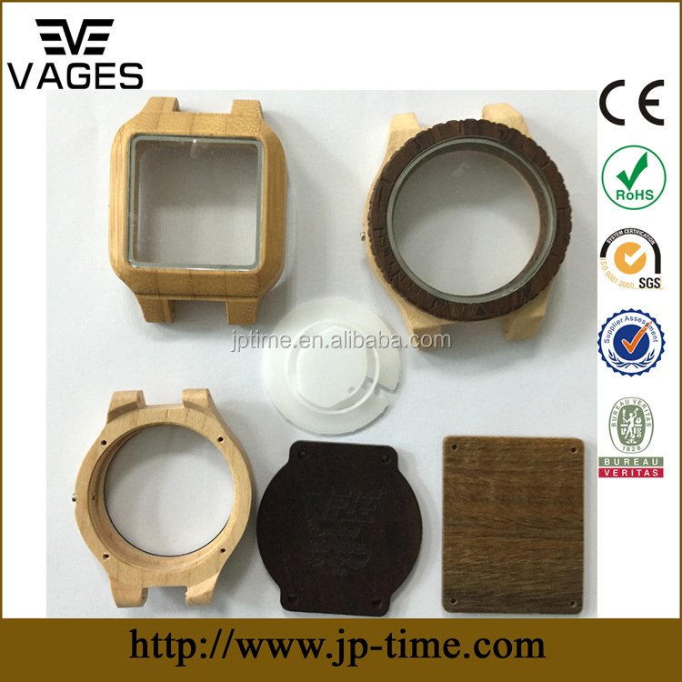 fast <strong>delivery</strong> factory directly matching different movement cnc wood watch case wood watch parts strap