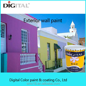 Building Acrylic Painting Exterior Wall Dedicated Latex Coating for Outdoor